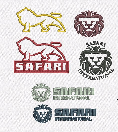 Safari logos in color